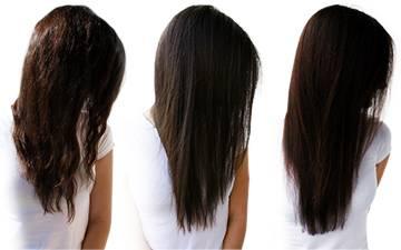 Keratynowe wygładzanie włosów